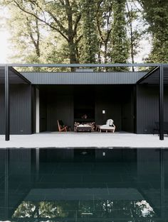 CD Pool House – Simple Yet Elegant Space for Relaxation
