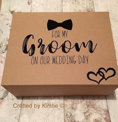 Groom gift box!