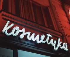neon museum in Poland #signage #neon