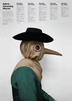 Google Image Result for http://bumbumbum.me/wp content/uploads/2011/05/fabric_tomdarracott_plague.jpg #fabric #fabric london #big nose
