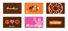 Matt Stevens // Creative Direction + Design - WORK BLOG - Daydream rebrand: Dunkin Donuts #gift #illustration #cards #donuts