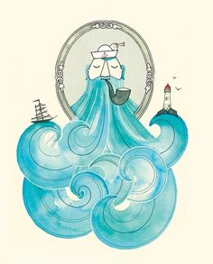 Sailor_big_1290018257.jpg (JPEG Imagen, 700x869 pixels) #illustration