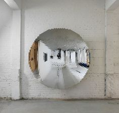 and if it's real #circle #sculpture #mirror #installation