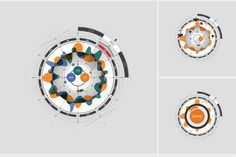Macroscop Interactive on Behance #infographics #circle