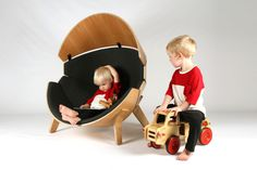 Hideaway Chair #furniture #design #kids