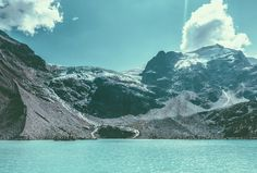 Nat Kelley - Joffre Lakes - Circa 1983 #mountains #lake #photography