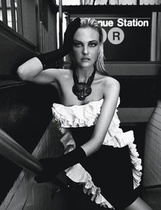 Caroline Trentini by Fabio Bartelt for Vogue Brazil