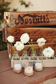 vintage box #flower #vintage #box