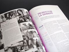Grow, Blossom, Widen - Altran - Rapport RSE 2012 #design #graphic #altran #direction #art #editorial