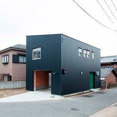 Danchi Hutch by Yoshihiro Yamamoto #architecture #minimalist house