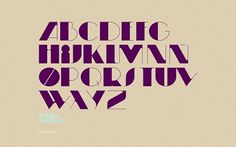 Moonwalker Type on the Behance Network #font #contrast #typography