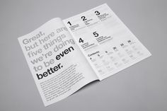 Auckland International Airport - mike collinge - design / identity / art direction #type #report #annual #typography