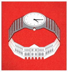 Creative Review - SHOP Magazine cover illustrations #of #heads #illustration #state #watch #singapore