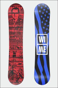 Client: WI-ME Snowboards\\nProject: Apparel Design