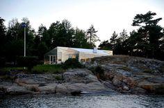The Aluminum Cabin by JVA #minimalist #house