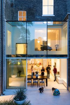Richmond Avenue House Lipton Plant Architects 9