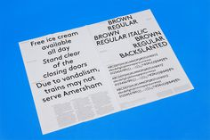 Aurèle Sack   LL Brown Typeface