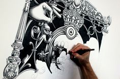 Drawing by Joe Fenton | 123 Inspiration #drawing