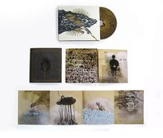 Brian Danaher ::: Design / Rabbit Children CD Package #music #letterpress #cd packaging
