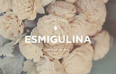 Esmigulina: love the branding #logotype #cosmetic #identity