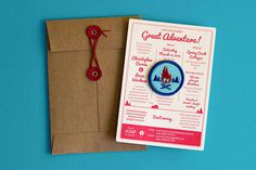 Design Work Life » Patching It Up #invite #wedding