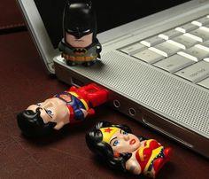 Superman Mimomicro USB Drive #usb #gadget