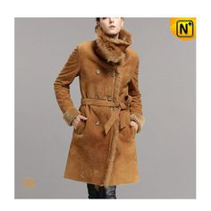 Shearling Long Coat CW640235 #long #shearling #coat