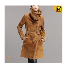 Shearling Long Coat CW640235