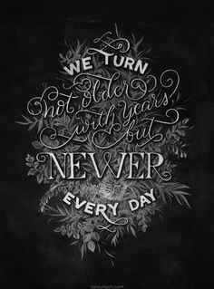 Casey Ligon: Hand Lettering #bw #lettering #hand #typography
