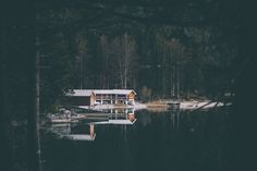 boat house. by Johannes Hoehn