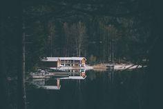 boat house. by Johannes Hoehn