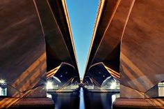 Asymmetrical Singapore | Flickr - Photo Sharing! #symmetry #bridge
