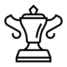 See more icon inspiration related to prize, win, award, cup, sports and competition, champion, winner and trophy on Flaticon.