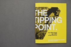 The Tipping Point: Annual Report on Behance