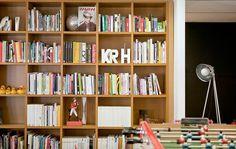 Studio Magazine: Landor Associates, Paris #office #bookshelf