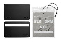 Triboro: BLK DNM — Collate #card #branding #triboro