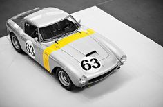 photo #vintage #retro #graphic #monochrome #car #classic #ferrari #oldtimer