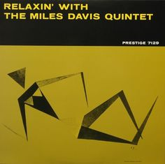 Miles Davis – Relaxin' with The Miles Davis Quintet (1956) | Merlin's New Rags #album #miles #prestige #davis #jazz #covers #vintage #art