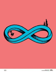 The Stacks Review #infinity #illustration #skateboarding