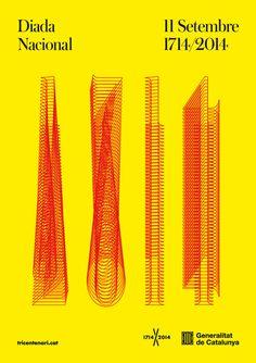 Diada Nacional 2014 —Mario Eskenazi #poster #catalunya #identity #barcelona