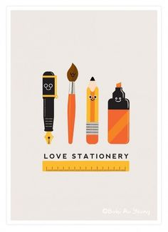 Love Stationery | MILKJAR SKETCH BLOG