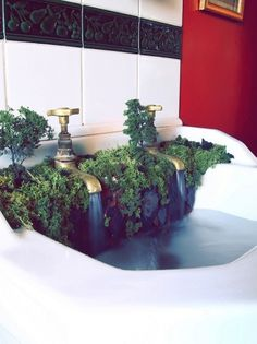 The Sink - Samuel J Ellis - Designer #sink #water #unfarmiliar #farmiliar #forest #waterfall #tap #jungle