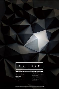 REFINED Exhibition Poster