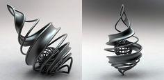 spiral_02.jpg (JPEG Image, 840x414 pixels) #material #texture #printing #metal #3d