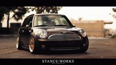 StanceWorks Project Update: Andrew's Mini Clubman | StanceWorks #photo #car #gif