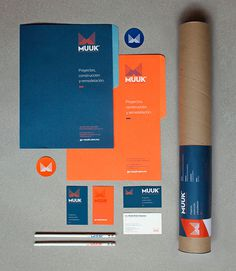 Muuk Architects #collateral #stationery #architecture #identity