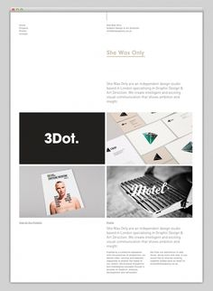 Websites We Love #grid #layout #webdesign #studio #website #web #web design #grid based