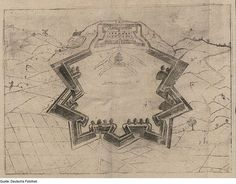 Fortification Theory (1600) | The Public Domain Review #fortress
