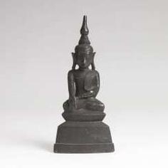 Bronze-Figur 'Buddha Shakyamuni'