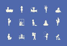 Character Design #silhouette #icons